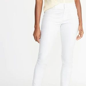 Mid-Rise Pixie Chino Ankle Pants for Women New